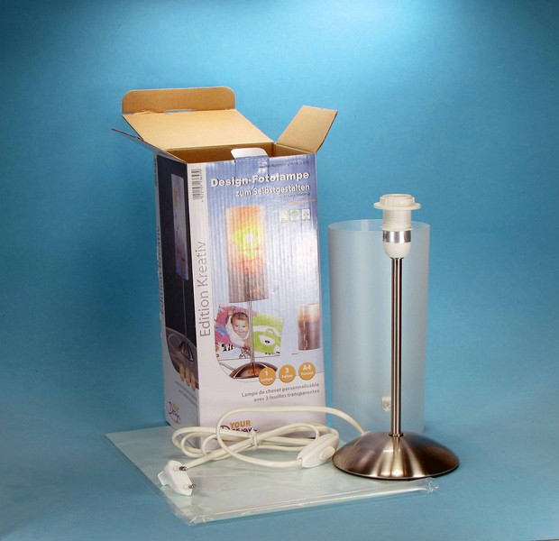 Foto und bild lampen zum selber gestalten oder bedrucken for Foto lampen